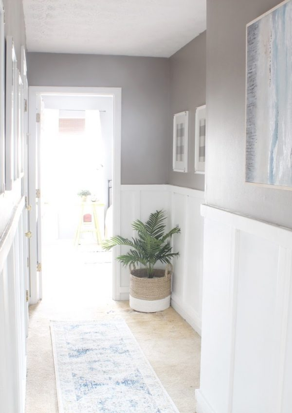 Upstairs Hallway Makeover Reveal: Spring Into Action Blog Hop