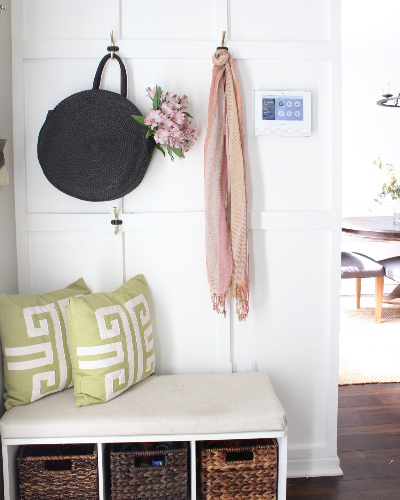 Super Easy DIY Board and Batten Tutorial for a Small Foyer