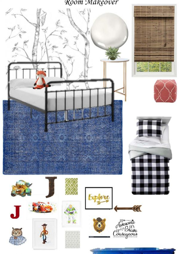 A Toddler Boy Woodsy-Imaginative-Adventurous Room Makeover: The Plans