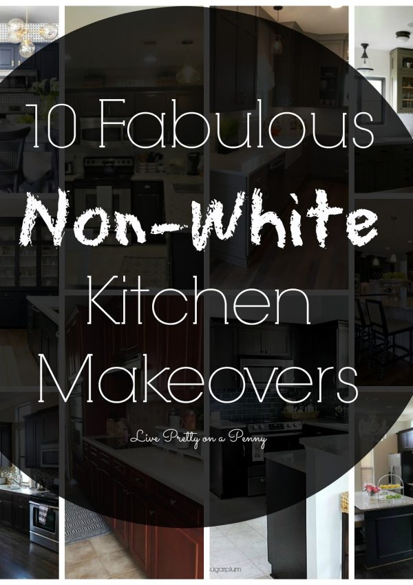 10+ Fabulous Non-White Kitchen Makeovers
