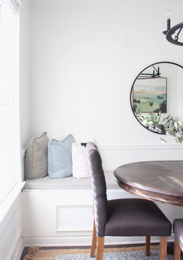 How to Build a DIY Built-In Dining Room Bench with Storage