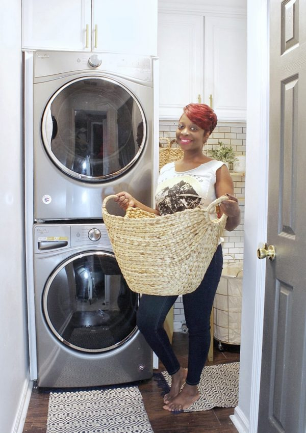 Laundry Room Refresh Part One:The Reveal