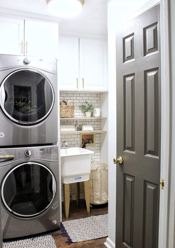 Laundry Room Refresh Part Two: The DIY's