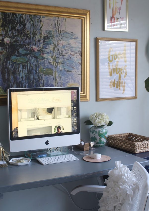 #4DaysofOrganizing: Creative Organizing Solutions for the Home Office