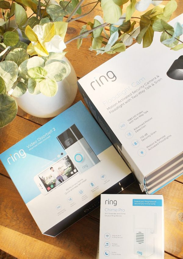Making Our Home Smarter Part 1 with Ring™ Video Doorbell and Floodlight