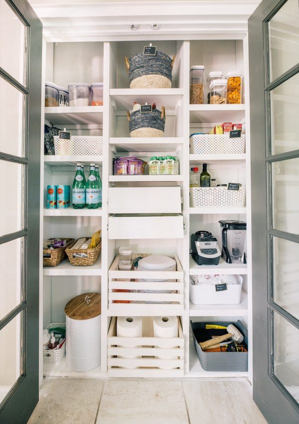The Ultimate Custom Pantry DIY Shelves Tutorial