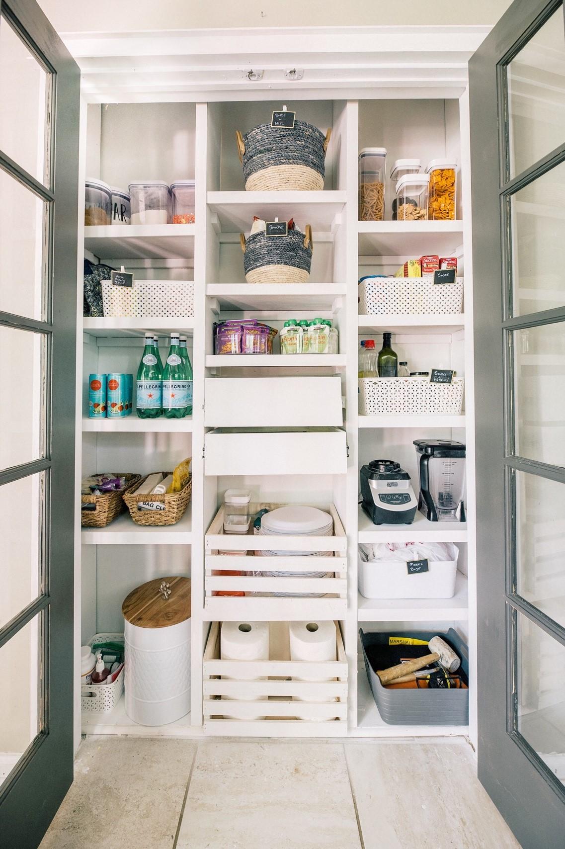 The Ultimate Custom Pantry DIY Shelves Tutorial - Live ...