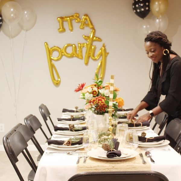 Simple & Easy Friendsgiving Party at Home