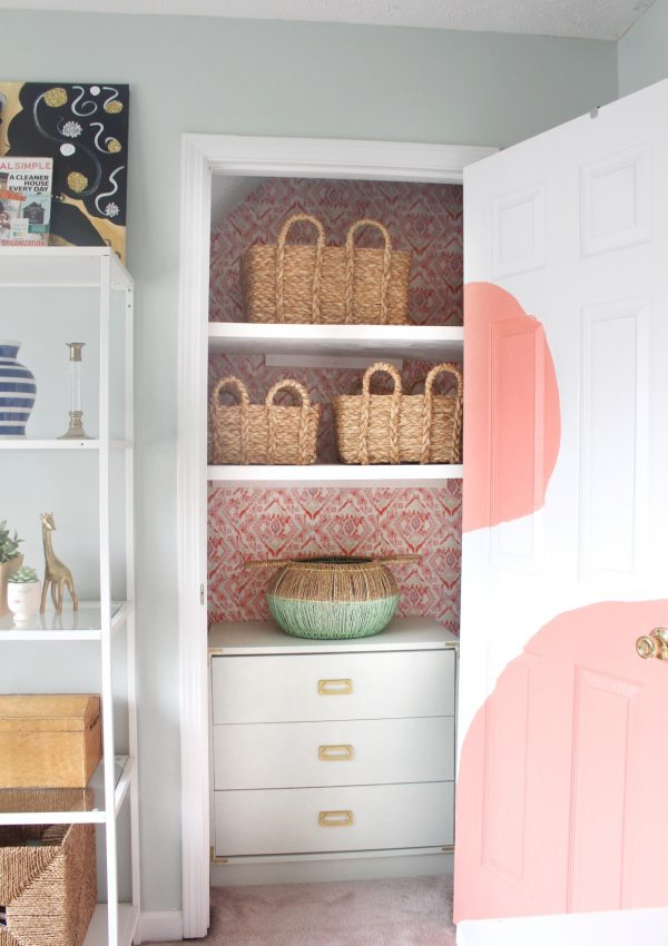 Closet Makeover on a Budget Reveal