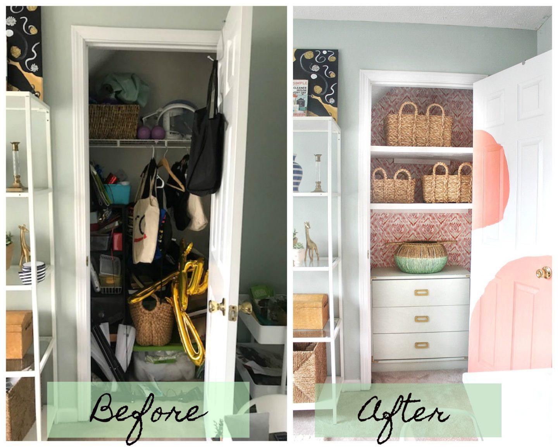 budget closet makeover