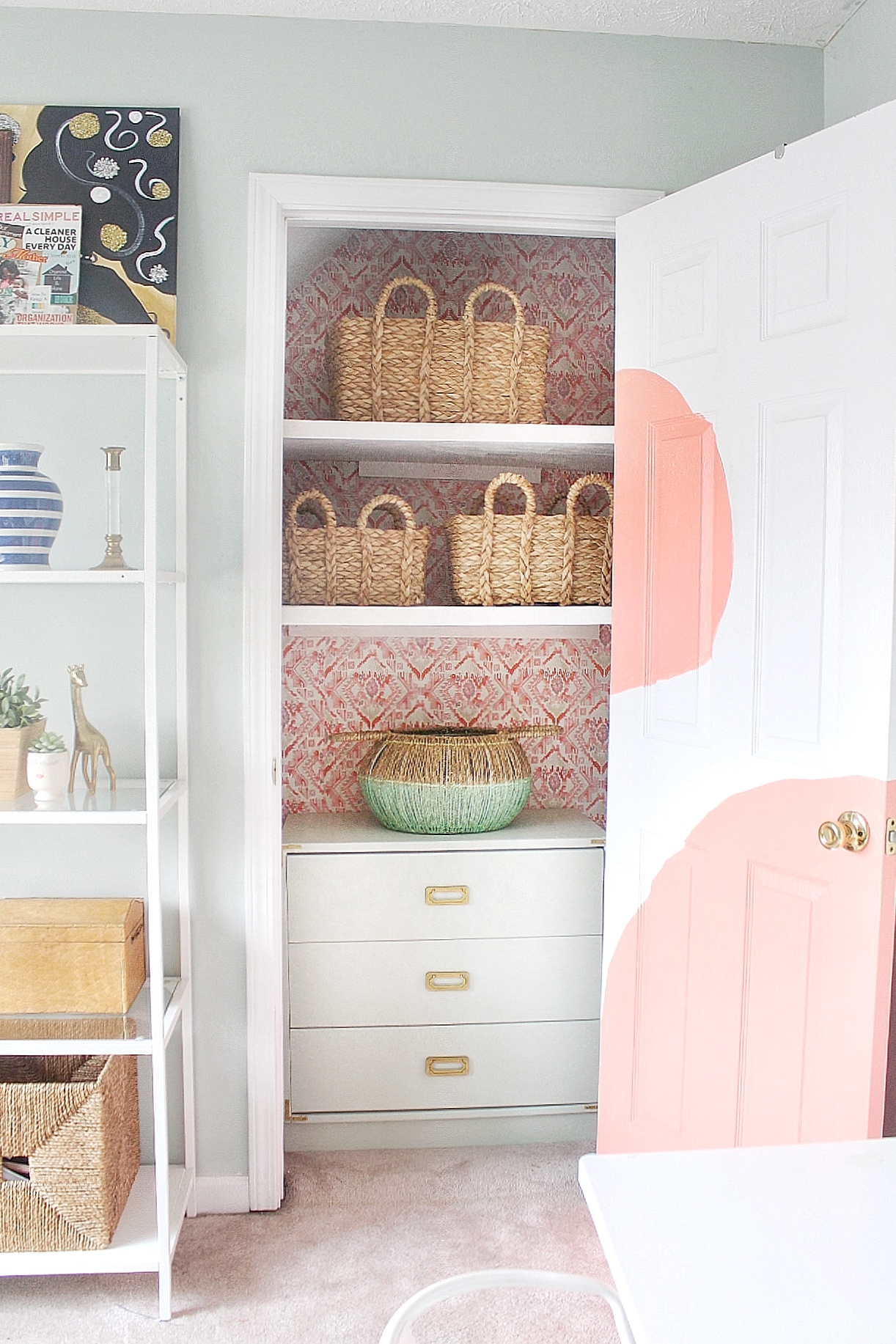 budget office closet makeover