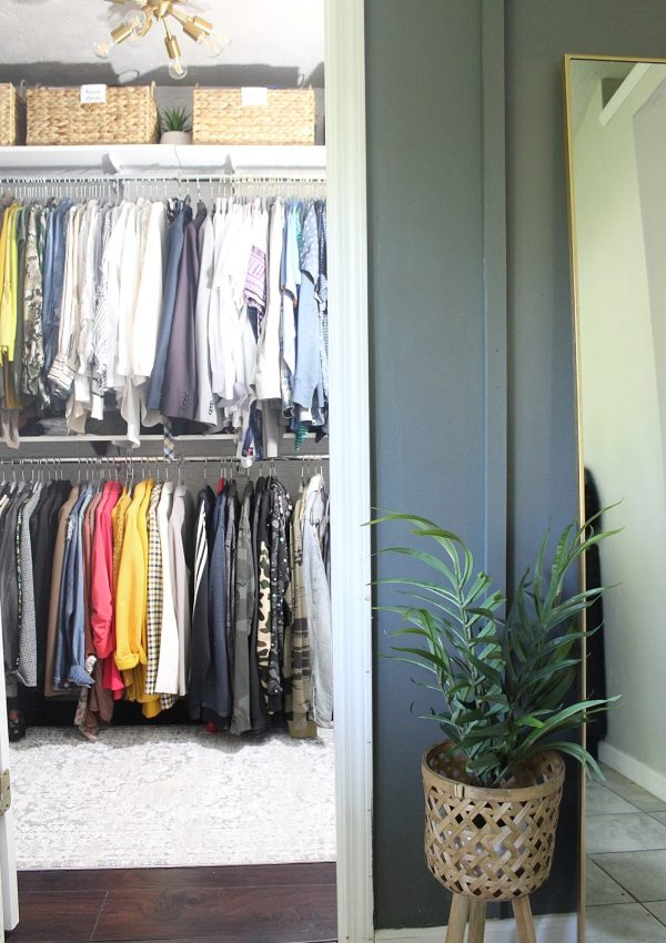 How We Installed our Organized Living freedomRail Closet System