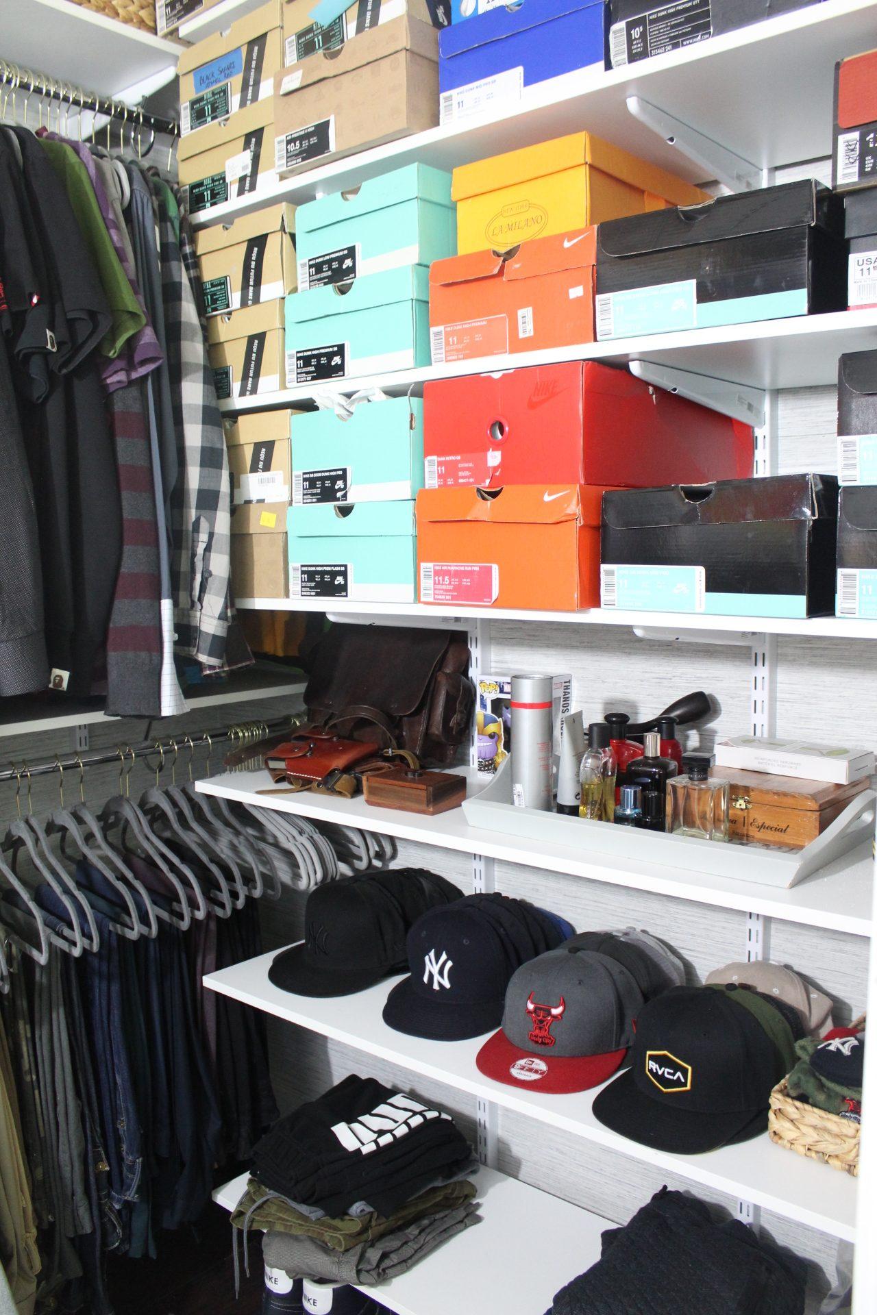 master closet reveal