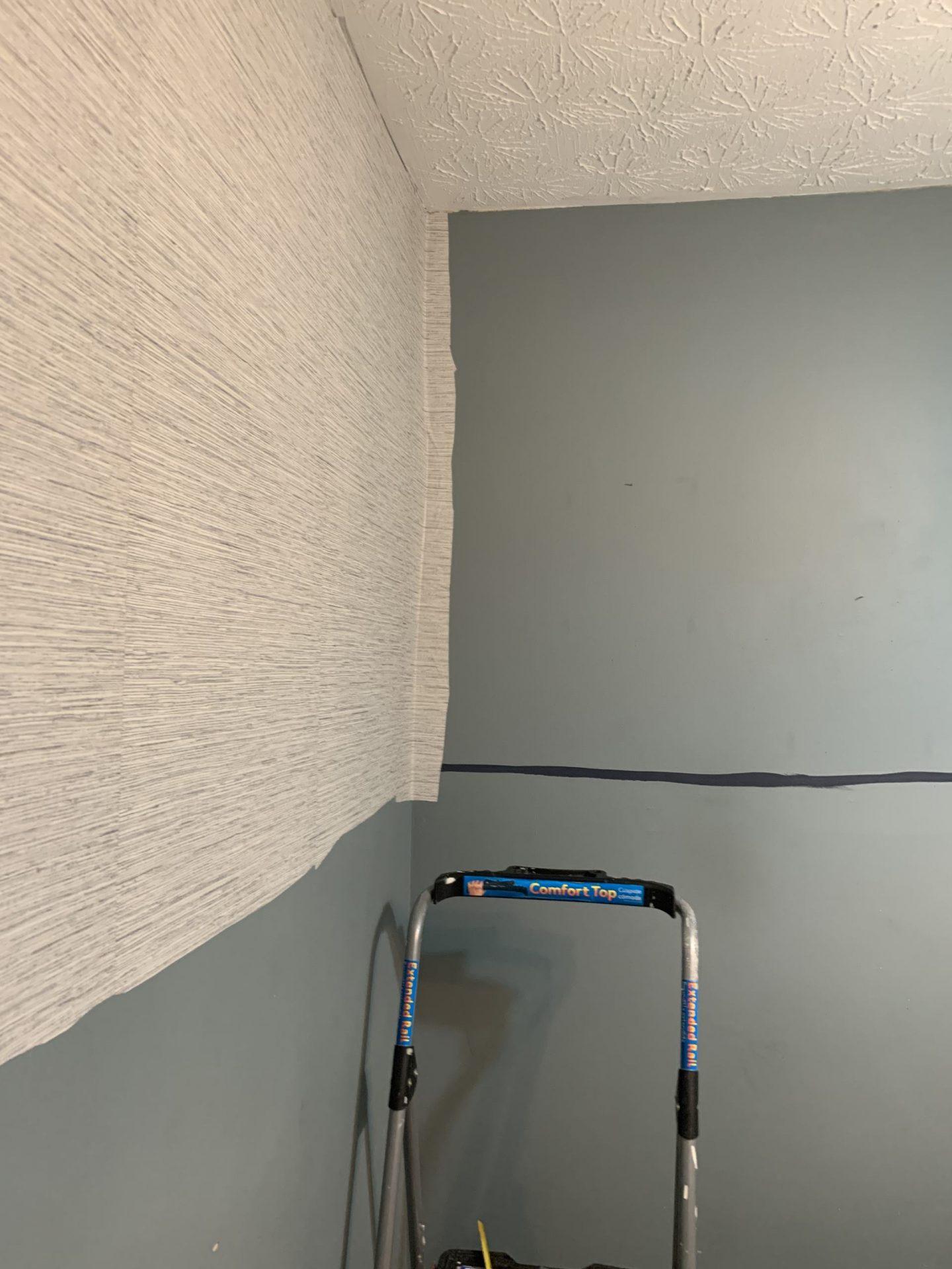 one room challenge wallpaper