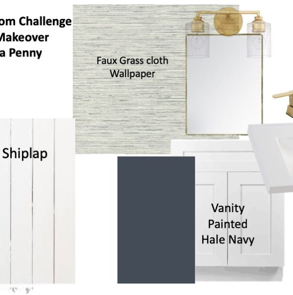 Spring 2020 One Room Challenge Week Two: The Plans