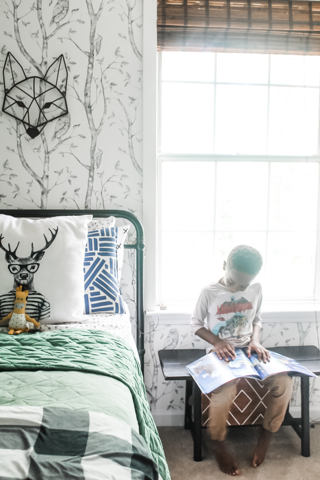 young boys bedroom update