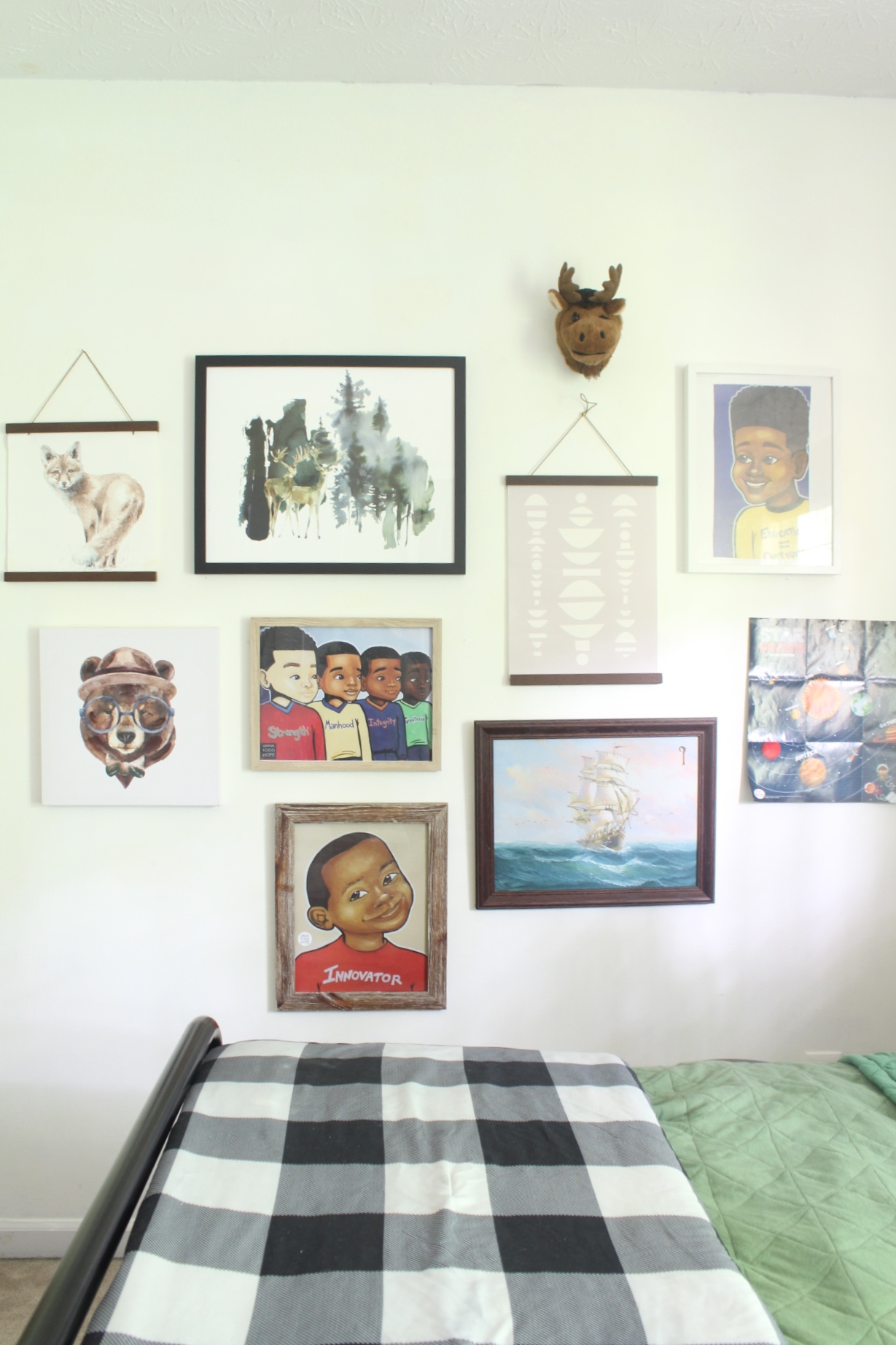 young boys room update
